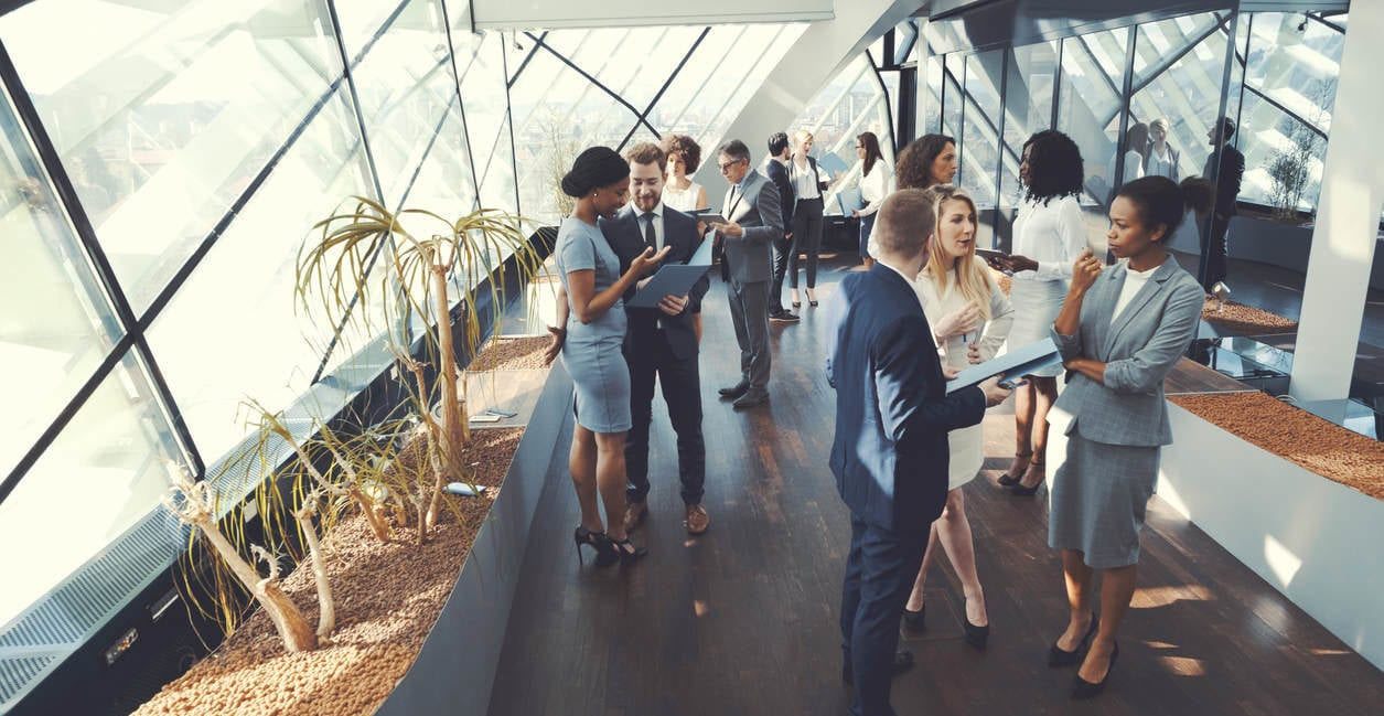 networking for senior management tips